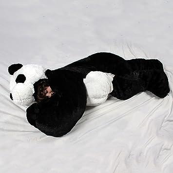 SnooZzoo Panda Childrens Stuffed Animal Sleeping Bag GIANT 66 Inches Tall