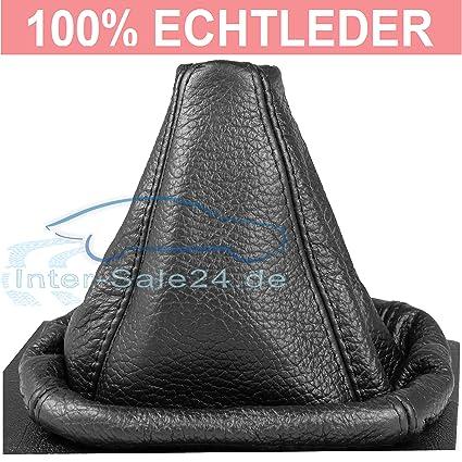 L&P A0024 Funda saco cuero de 100% real piel genuina negro con ...