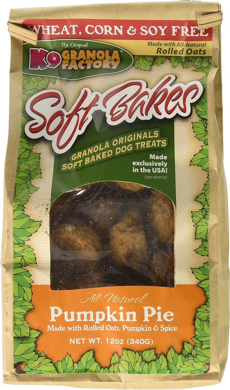 K9 Granola Factory Soft Bakes Pumpkin Pie 12Oz Bags