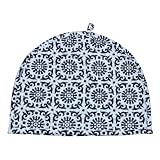 Indian Cotton Printed Tea Cozy Black & White Tea