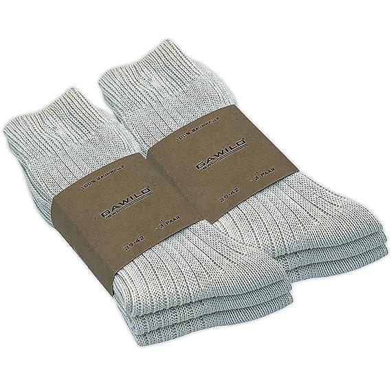 venenfreundlich,Größe 39 bis 46 4 oder 8 Paar Herren-Leinen Socken Baumwolle