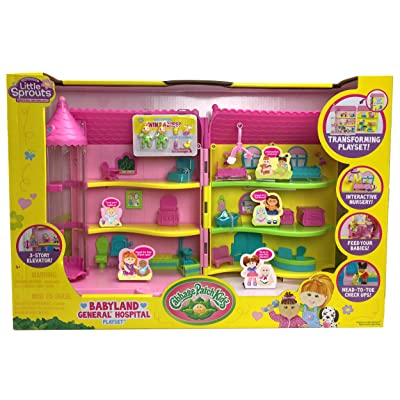 Cabbage Patch Kids Babyland General Hospital Play Set Playhouse: Toys & Games