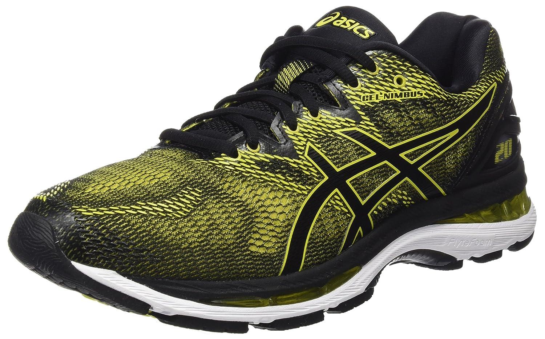 Asics Gel-Nimbus 20, Zapatillas de Running para Hombre 44 EU|Amarillo (Sulphur Spring / Black / White 8990)