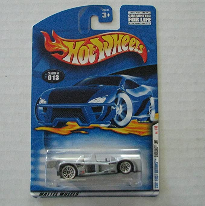MATTEL HOT WHEELS HOTWHEELS 1//64 die cast metal model CADILLAC LMP No 1//36