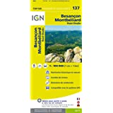 Top100137 Besancon/Montbeliard 1/100.000