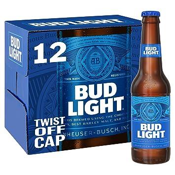 bud light lager bottle 12 x 300ml amazon co uk prime pantry