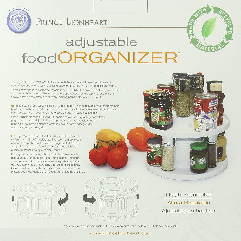 Amazon.com : Prince Lionheart Adjustable Food Organizer : Baby Food Mills : Baby
