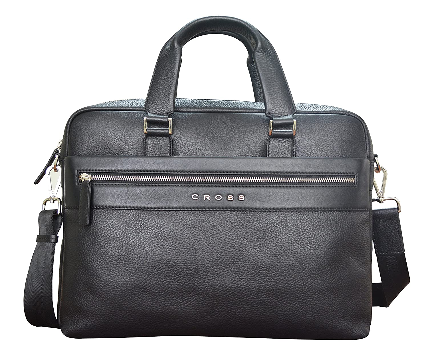 CROSS Nueva FV Men's Genuine Leather Briefcase with Free