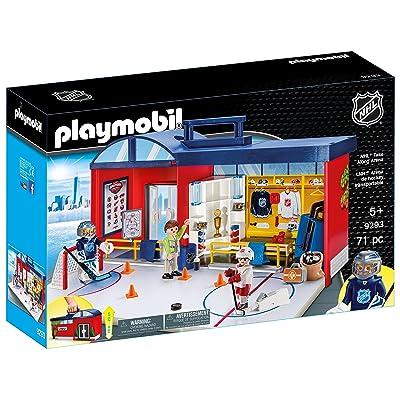 PLAYMOBIL NHL Take Along Arena: Toys & Games