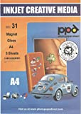 PPD Inkjet Gloss Magent Paper A4 x 5 Sheets  PPD-31-5