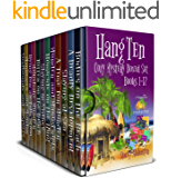 Hang Ten Australian Cozy Mystery Boxed Set: Books 1 - 12