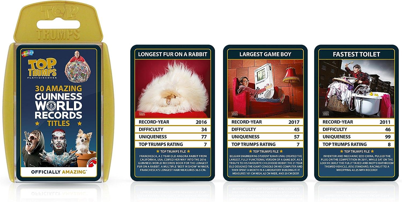 Top Trumps- Guinness World Records, Color mundiales (Winning Moves 32780): Amazon.es: Juguetes y juegos