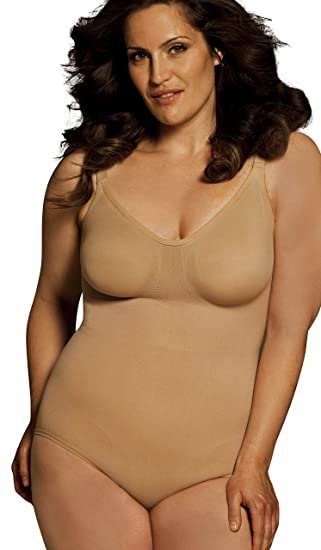 c57a5c8be Exclusive to Shapewear Solutions Plus Size Slimming Body Wrap Seamless  Bodysuit