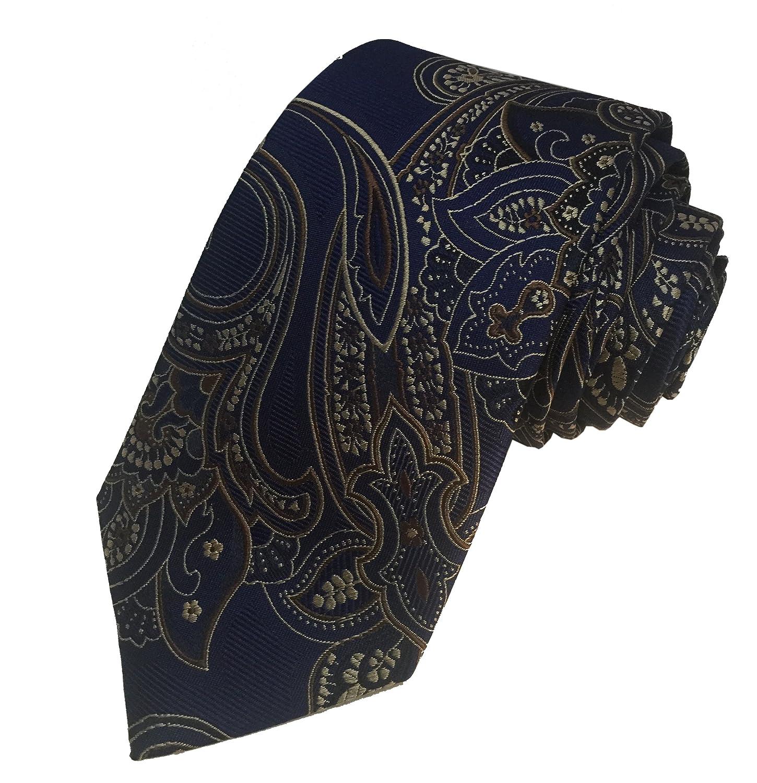 Holland Esquire - Corbata de seda para hombre, 100% cachemira ...