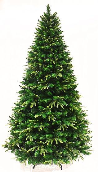 spring spirits fir christmas tree with real feel pe tips 6ft