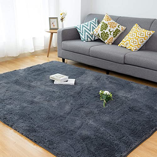 Soft Fluffy Shaggy Fur Area Rug