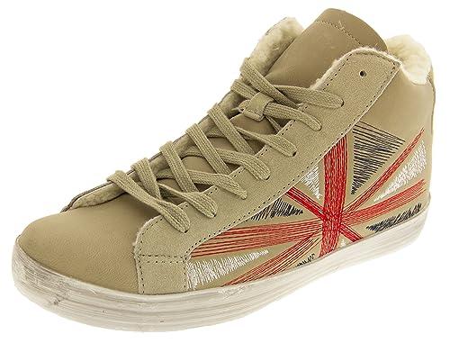 Footwear Studio - Zapatillas altas mujer: Amazon.es: Zapatos y complementos