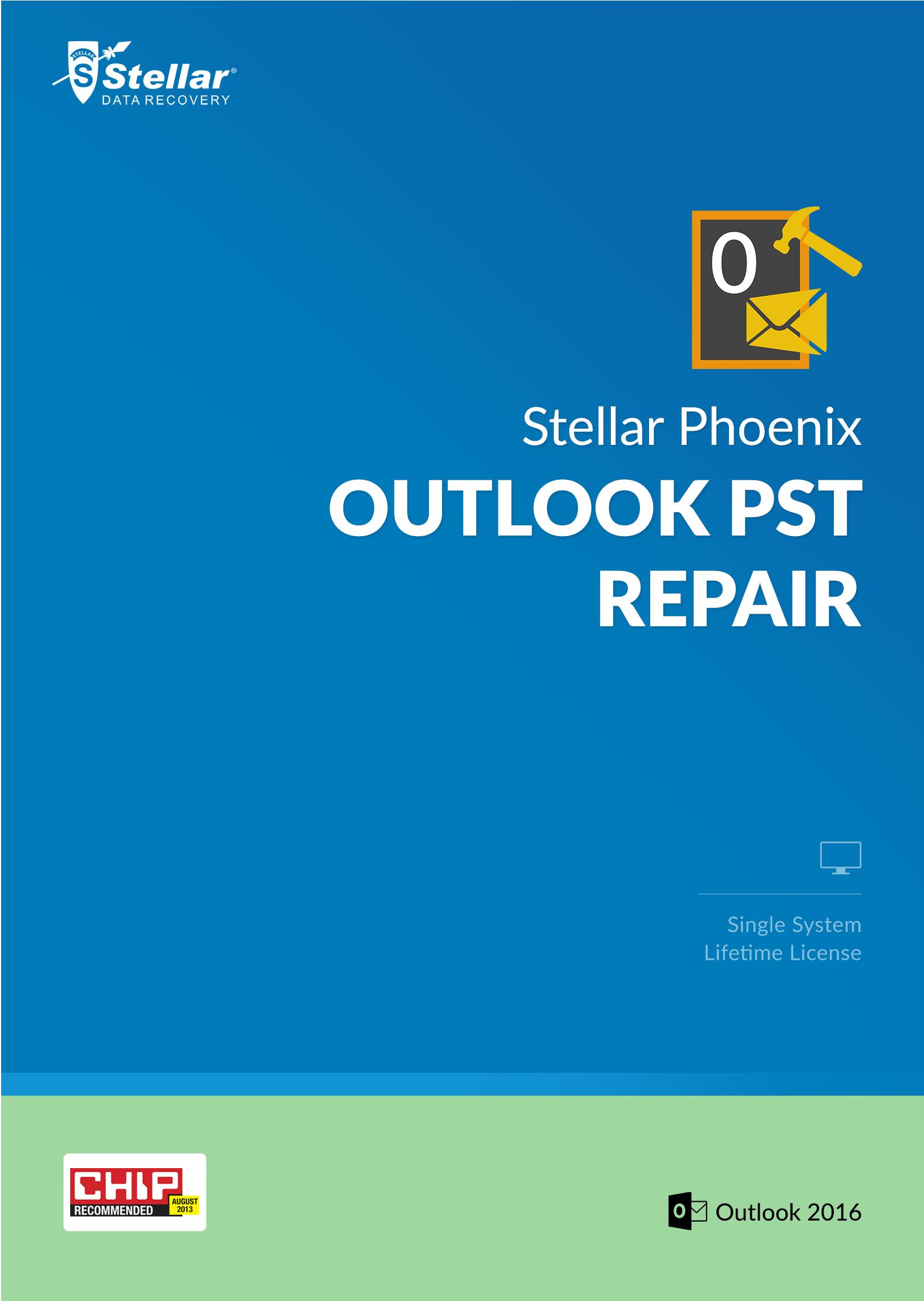 Stellar Phoenix Outlook PST Repair [Download]