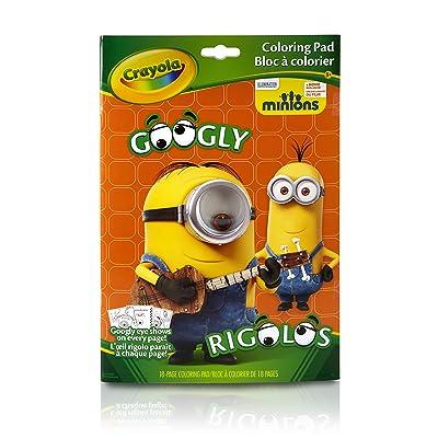 Crayola Googly Eye Minions Coloring Book: Toys & Games