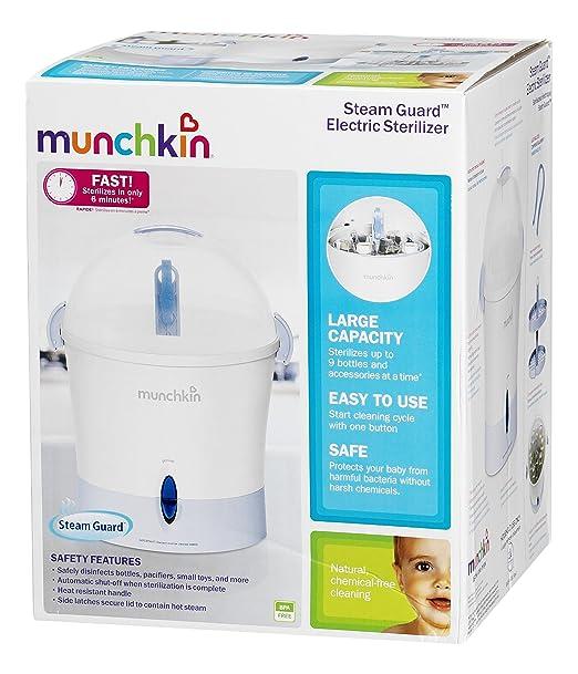 Amazon Munchkin Steam Guard Electric Sterilizer Baby Bottle