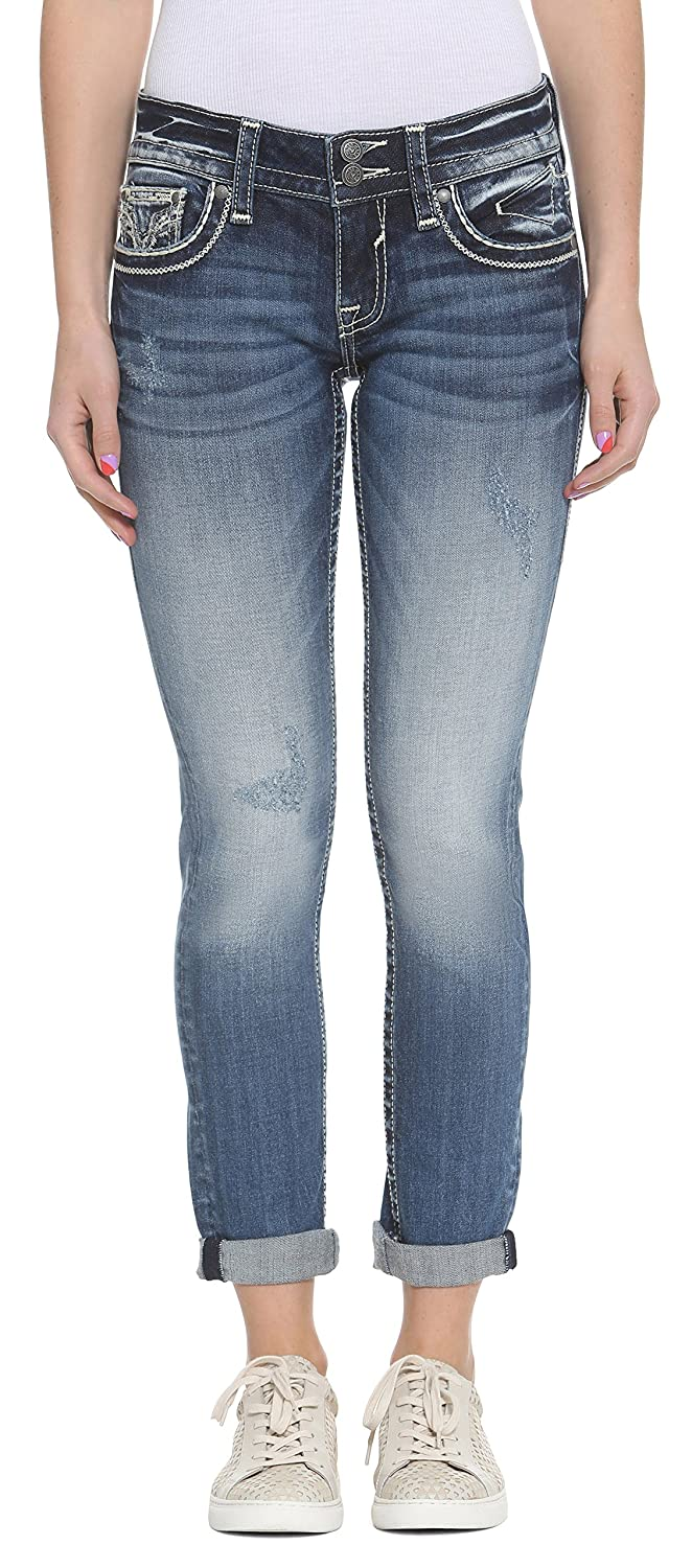 VIGOSS Womens Thompson Tomboy Chelsea Jean