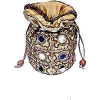 Craft Trade Ethnic Rajasthani Potli Bag For Women, Bridal, Casual, Party, Wedding
