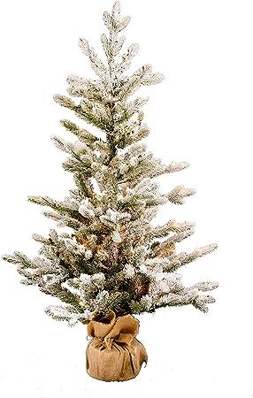 Arbre de Noël artificiel 120cm vert Sapin artificiel