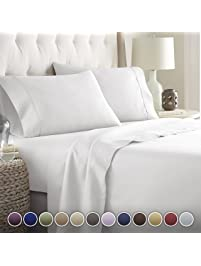 HC COLLECTION Hotel Luxury Bed Sheets ...