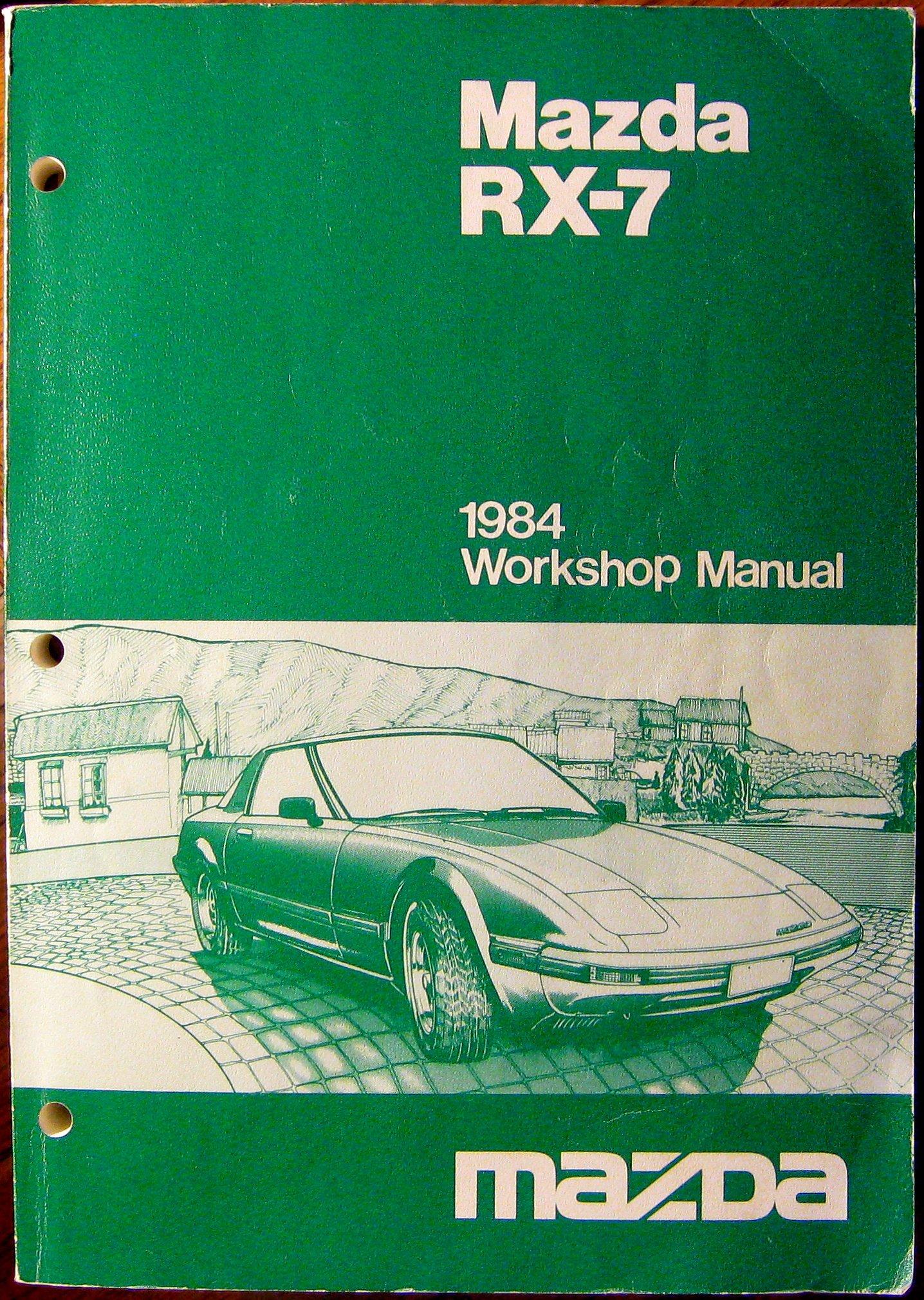 [DIAGRAM_38EU]  1984 Mazda RX-7 Workshop Manual: Amazon.com: Books | 1983 Mazda Rx7 Wiring Diagram |  | Amazon.com