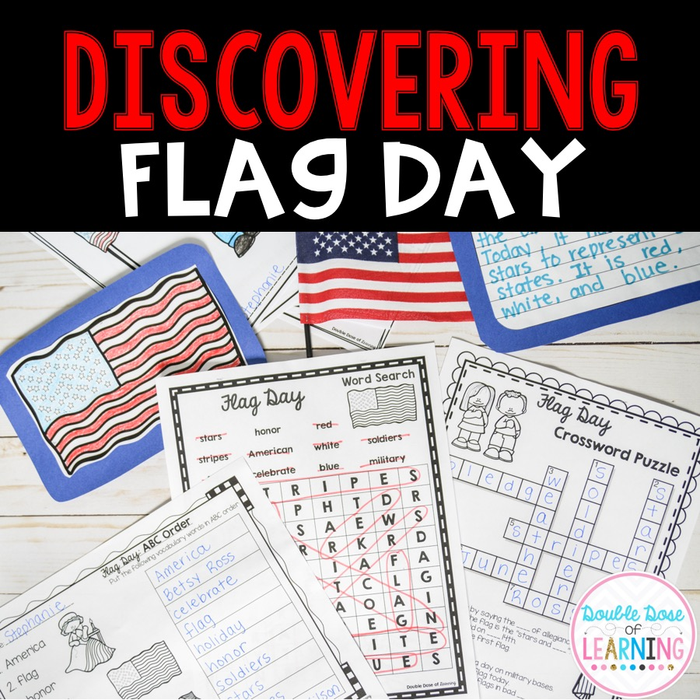 Flag Day Research Unit with PowerPoint
