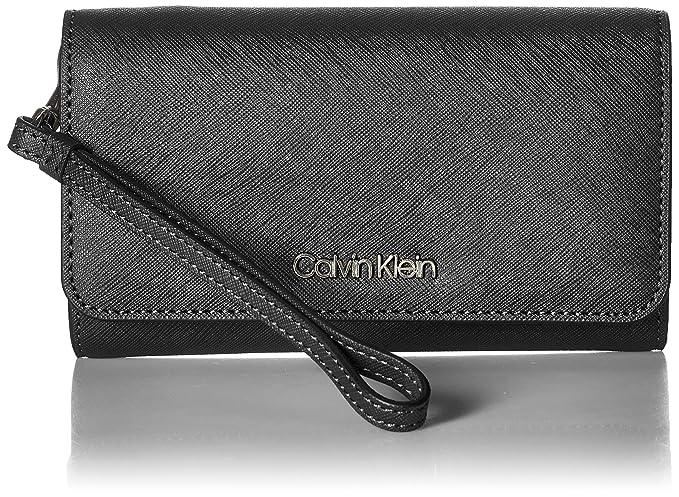 Amazon.com: Calvin Klein Saffiano - Muñequera de tamaño ...