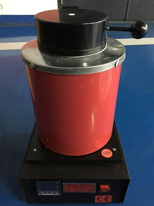 2 kg Mini horno de horno de fusión, Eléctrico, joyería ...