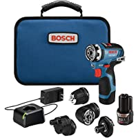 Deals on Bosch GSR12V-300FCB22 12V Max EC Flexiclick 5-In-1 Drill