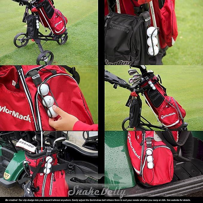 Amazon.com: Pelota de golf – Soporte SNAKEBELLY Pro con ...