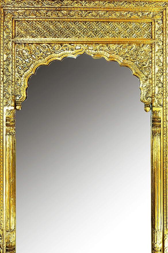 Orient Taj - Espejo de pie (3-215 cm, con Marco de Madera ...