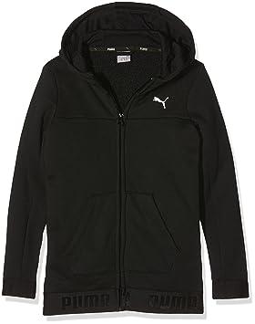 3cda6392fe Puma Sportstyle Veste Fille Noir FR : 8 Ans (Taille Fabricant : 128 ...