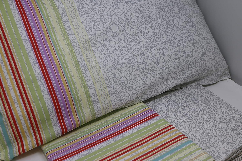 Caleffi Completo Di Lenzuola Matrimoniali In Puro Cotone Art Blu 011 Malibu Biancheria Da Letto Maharshiwomensdegreecollege Tessili Per La Casa