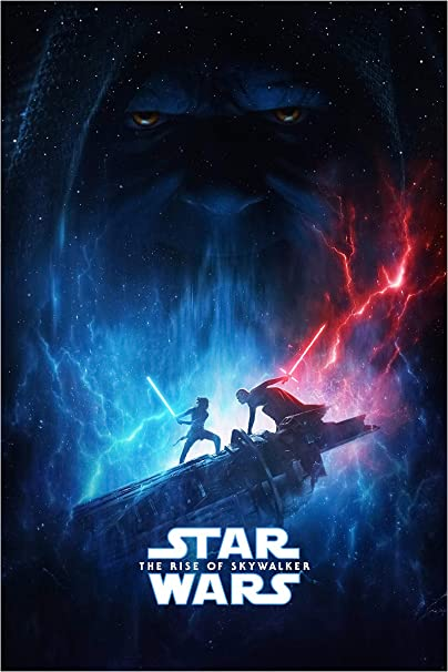 Amazon Com Star Wars The Rise Of Skywalker Movie Poster Hight Quality Glossy Limited Wall Art Print Photo Adam Driver Daisy Ridley Size 11x17 2 Everything Else