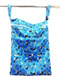 Superbottoms Cloth Diaper Wet Bag with Dual Compartment and Generous Sizing - Mischief Managed