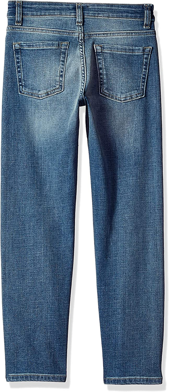 Essentials Boys Kids Stretch Straight-fit Jeans