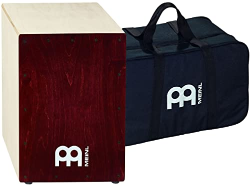 Meinl Cajon Box Drum with Internal Snares and FREE Bag - MADE IN EUROPE