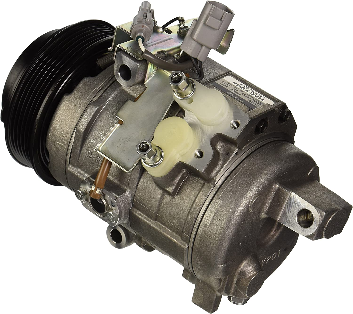 Denso 471-1412 New Compressor with Clutch