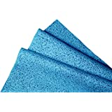 Kimtech Lint free Multipurpose Glass Cleaning Cloth, Reusable, Medium Size,23.7 x 25.4 cm, Pack of 25, Blue, 60021 by Kimberly-Clark