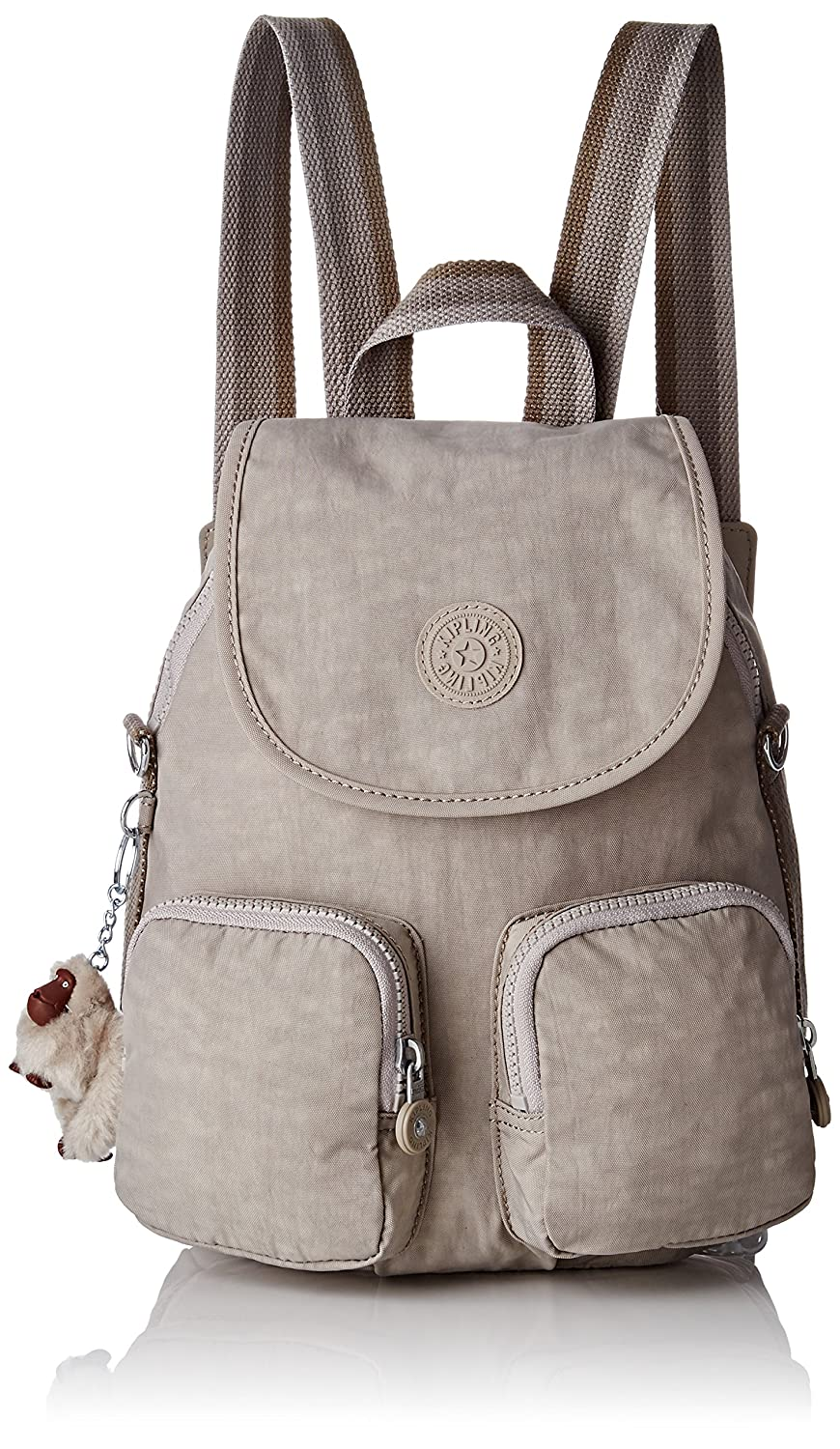 Kipling Womens Firefly Up Backpack Beige (Pastel Beige C)  Amazon.co.uk   Shoes   Bags bb707616fadc4