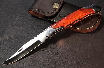 Navaja - Cuchillo de caza - Navaja grande - XL de más de 22 ...