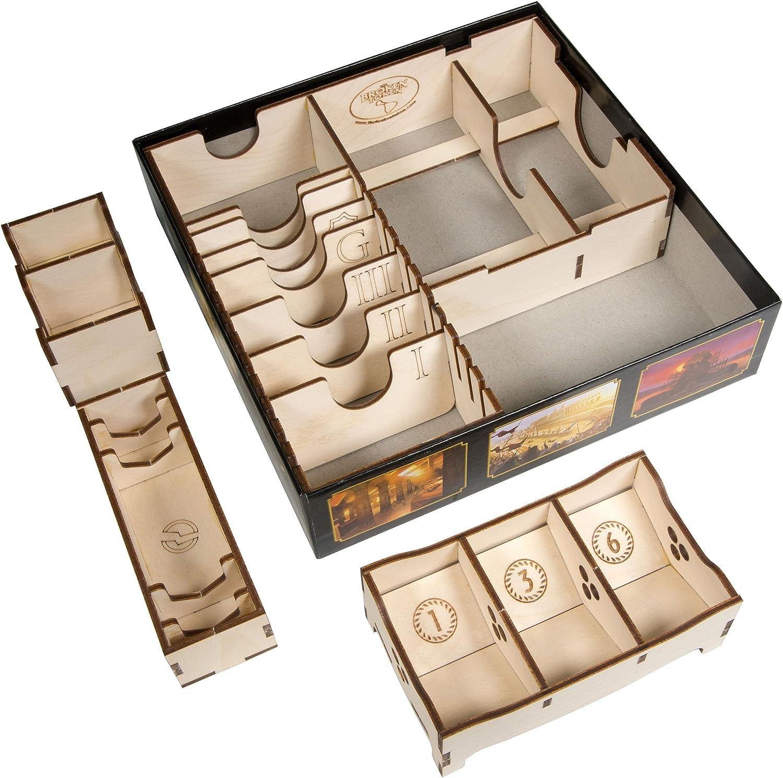 Broken Token Box Organizer for 7 Wonder Duel: Amazon.es: Juguetes y juegos