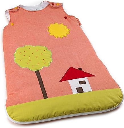 NioviLu Design Saco de dormir para bebé - Pintura Alegre (0-6 meses / 70 cm - 1 Tog)