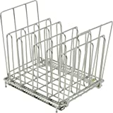 LIPAVI Sous Vide Rack - Model L10E - Extended handels - Marine Quality 316L Stainless Steel - Square 7.8 x 6.4 Inch - Adjustable, Collapsible - Lift rack with ease - Fits LIPAVI C10 Container