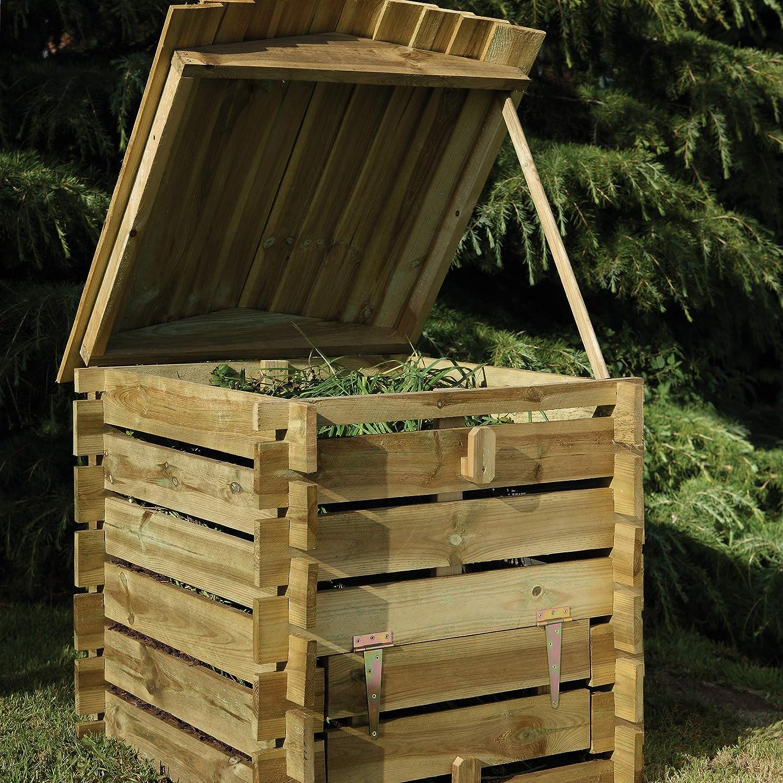 Bosque Colmena Compost Bin: Amazon.es: Jardín
