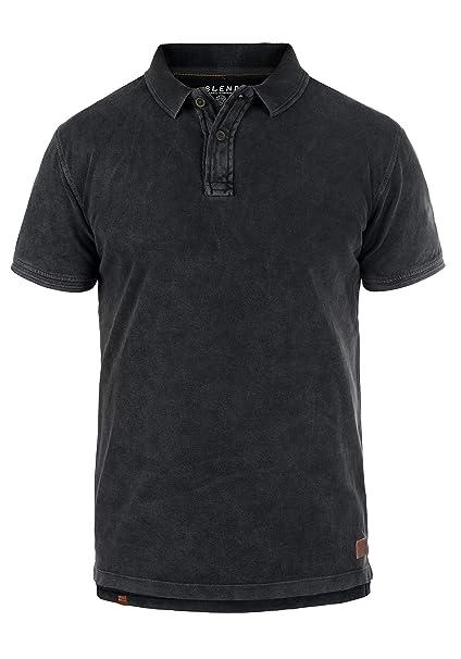 c276dc447d7 Blend Camper Camiseta Polo De Manga Corta para Hombre con Cuello De Polo De  100% algodón  Amazon.es  Ropa y accesorios